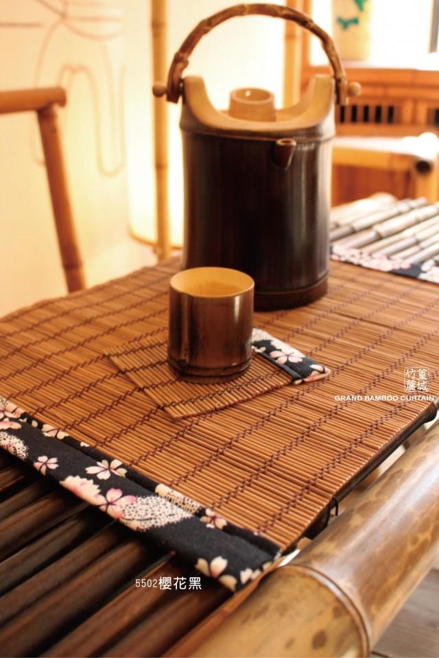 標準和風餐墊【車雙邊550/寬邊/30*40cm】純手工製作餐捲簾