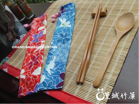 外出環保筷組【油桐花款/大尺寸/三件組】客家油桐花系列