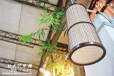 直筒吊燈F-TL05C 咖啡竹01