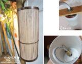 直筒吊燈F-TL05C 咖啡竹2