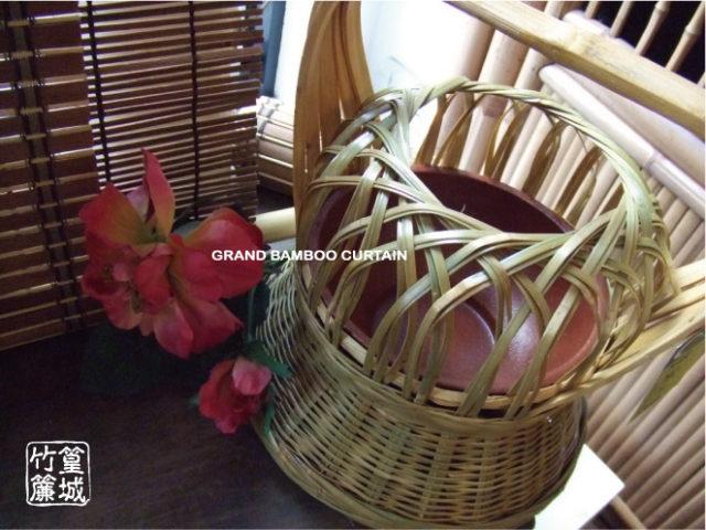 〔竹編火籠〕傳統傳藝品,可取暖當露營用暖爐、花器、古早味竹藝品