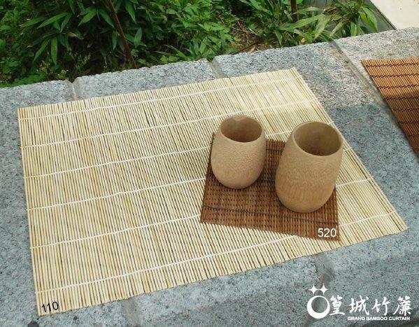 〔純竹捲簾30*40cm〕餐捲簾桌旗杯墊桌墊野餐墊天然台灣桂竹製作