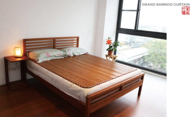 〔台灣炭化涼蓆6呎x7呎〕草蓆竹蓆床墊‧外銷款-現貨