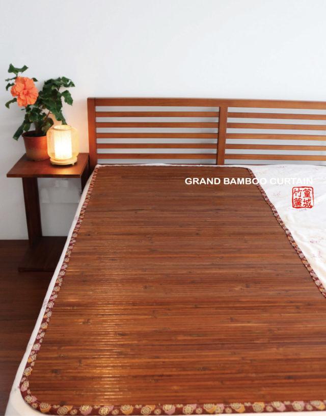 〔台灣碳化:涼蓆3X6呎 單人〕草蓆、露營睡墊、涼感寢具竹席床墊‧外銷款-現貨