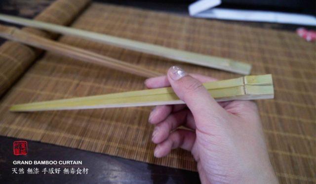 【篁城竹筷】〔靑竹-竹節筷〕台灣竹手工製作-日式竹筷