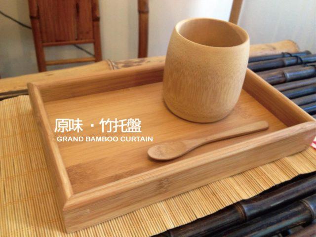 〔一般積層材小托盤〕天然竹材製作點心盤/茶點盤/野餐盤/小托盤/個人用商業用盤子