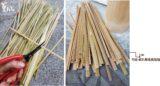 1公分竹條竹皮長長短短10