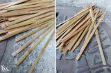 1公分竹條竹皮長長短短2
