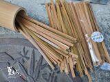1公分竹條竹皮長長短短4