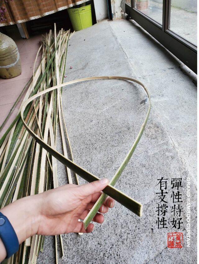 【篁城】《裝置藝術用-夢想竹條-長度.約4.3尺X寬1.2-1.5厚度0.3公分一把50片》台灣桂竹竹編骨架/竹材料竹片