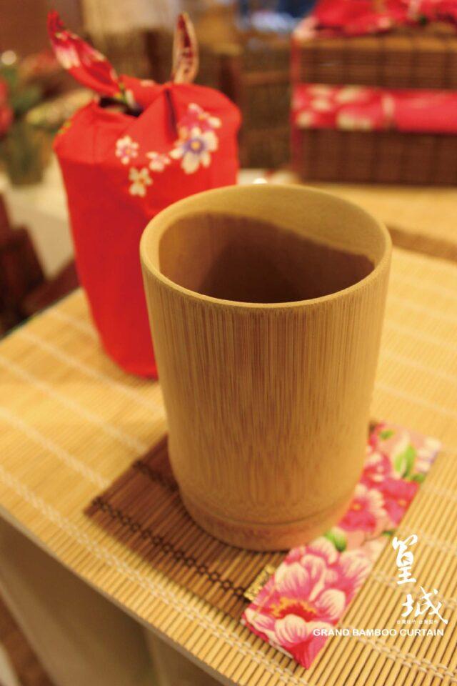 〔竹節杯大(原色) 有漆款/無漆款〕竹杯/竹筒/竹茶杯/竹杯子/筆筒..天然竹素材台灣本土製作