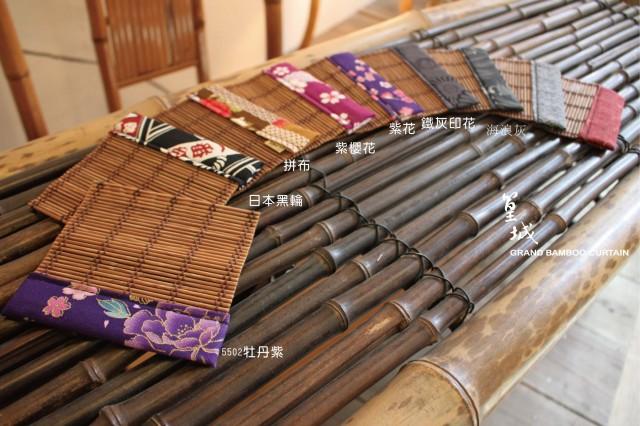 和風杯墊系列【車單邊/11*11cm/550】純手工台灣桂竹製作/杯墊/隔熱墊小桌墊