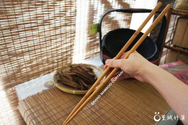 品竹系列環保筷一雙〔油炸長筷45公分〕精選竹材製作