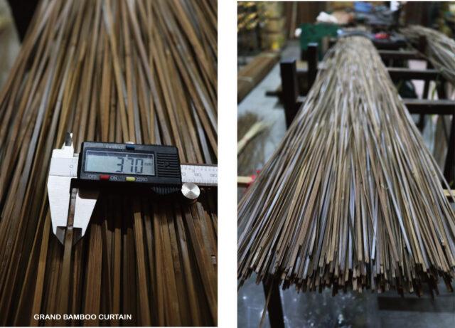 篁城竹材〔竹皮碳化-寬0.37X60-180公分:50隻包〕台灣桂竹DIY竹